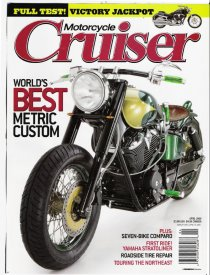 Cruiser Motorcycles - April 2006